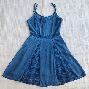 Black Swan Indigo Dress